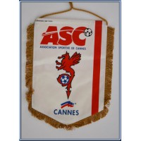 Fanion ancien ASC CANNES Format moyen