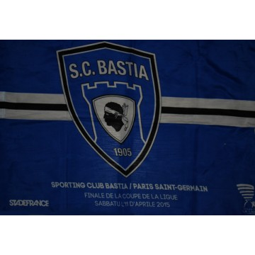 6c8287ea1c6d Drapeau SCB BASTIA FINALE STADE DE FRANCE 2015 - ARGUS FOOT   SPORTS