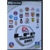 Jeu PC CD-ROM LFP MANAGER 2003 EA SPORTS