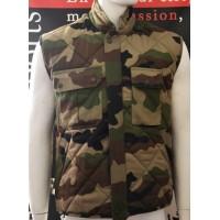 Veste Camouflage sans manche taille M
