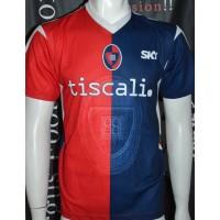 Maillot Réplique CAGLIARI Calcio taille S Tiscali