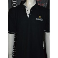 Polo GUINNESS noir taille L