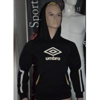 Sweat UMBRO taille enfant 138 (8ans) noir avec capuche