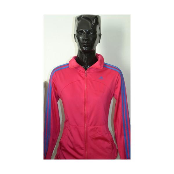 Ensemble ADIDAS Femme Veste + Jogging Rose taille 36 38 - ARGUS FOOT ... 1ca6061270c