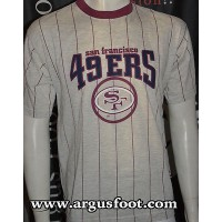 Tee shirt San Francisco SF 49ers NFL JERSEY taille L shirt Match