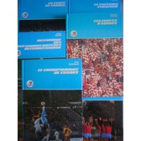 Lot de 12 livres sur le Football 1979 FFF éditions FAMOT 160 pag