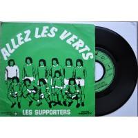 ASSE Vinyle ancien ALLEZ LES VERTS Les supporters