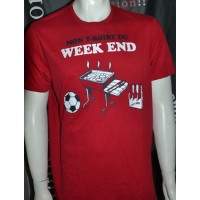 tee-shirt MON T-SHIRT DU WEEK END Stuff beer taille XL