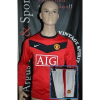 Ensemble Maillot/short Manchester Taille 10/12ans Nike (ME465)