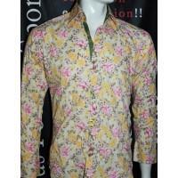 Chemise à Fleurs XOOS taille 2 (M)