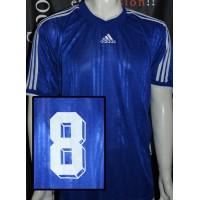 Maillot adidas taille XL bleu porté N°8