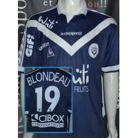 Maillot FCGB Bordeaux porté N°19 LNF BLONDEAU taille XL