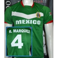 Maillot Federacion MEXICO N°4 R.MARQUEZ taille S