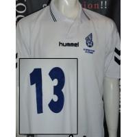 Maillot ancien OAC Olympique D'ALES porté N°13 taille L r