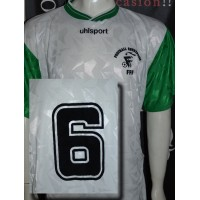 Maillot FOOTBALL ENTREPRISE FFF porté N°6 Uhlsport