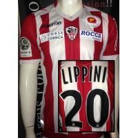 Maillot ACA AJACCIO porté LIPPINI N°20LFP taille M