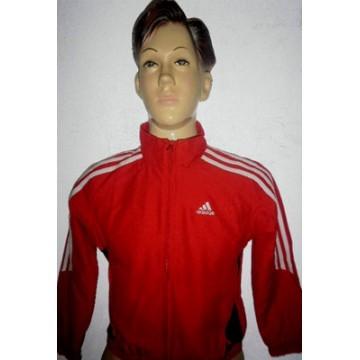 Veste Jogging Enfant ADIDAS Rouge Taille 8ans