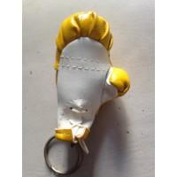 Porte clef ancien gant de boxe jaune