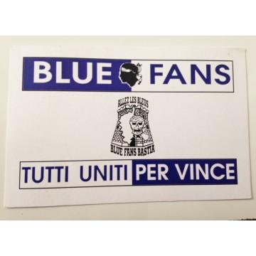 812a25c9cbd5 Ancienne carte membre BLUE FANS supporters SCB BASTIA - ARGUS FOOT ...