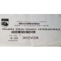 Billet stade SQUADRA CORSA SQUADRA INTERNAZIONALE