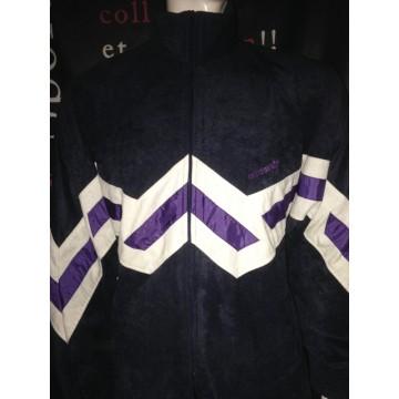 Femme Veste Club Veste Violette Adidas Violette Club Adidas