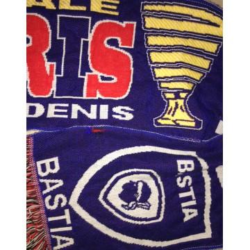 0607b6188a5c Echarpe SCB BASTIA PARIS PSG LA FINALE Coupe de la ligue 2015 ...