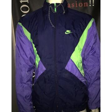 72b521efdffb7 Veste Vintage NIKE homme taille L Bleu vert violet - ARGUS FOOT   SPORTS