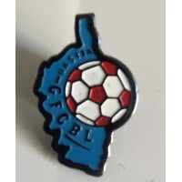 Pin's GFCBL bastia Football amateur Corse