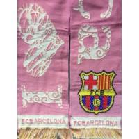 Echarpe FCB BARCELONE i Love Barça Rose