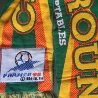 Echarpe CAMEROUN LIONS INDOMPTABLES Coupe du monde France 98
