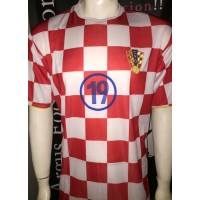 Maillot CROATIE CROATIA N°19 taille M
