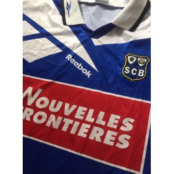 Maillot SC BASTIA 1995-96 Occasion REEBOK taille XL