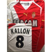 Maillot ASM MONACO N°8 LFP KALLON taille XL puma