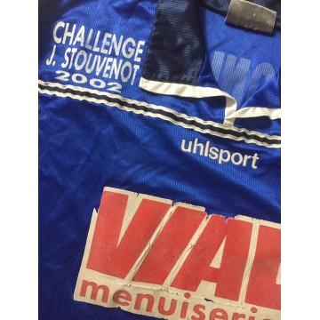 Maillot Bastia SCB porté N°17 CHALLENGE J.STOUVENOT 2002 taille XL