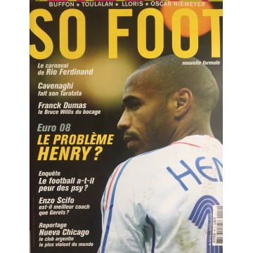 Magazine SO FOOT NUMERO 52 : MARS 2008