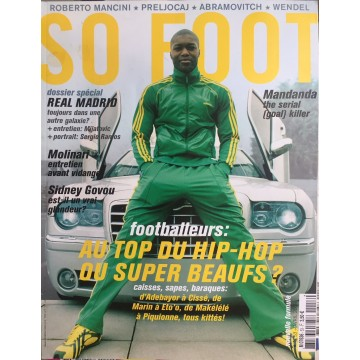 Magazine SO FOOT NUMERO 53 : AVRIL 2008