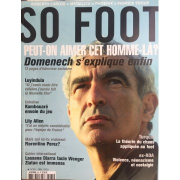 Magazine SO FOOT NUMERO 65 : MAI 2009