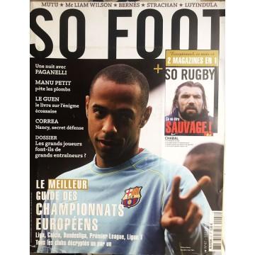 Magazine SO FOOT NUMERO 47 : SEPTEMBRE 2007