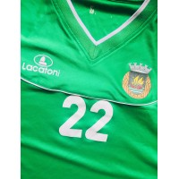 Maillot Rio Ave Futebol Clube  R.A.F.C. porté echauffement N°22 taille L