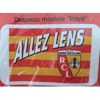 Drapeau RC LENS NEUF modèle rayé sous blister produit officiel