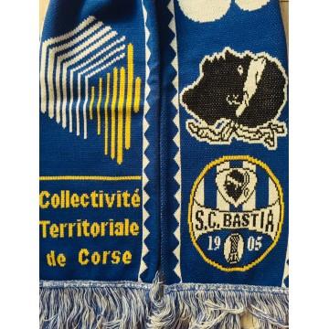 5a70d9a27a54 Echarpe SCB BASTIA Collectivité Territoriale de Corse - ARGUS FOOT ...
