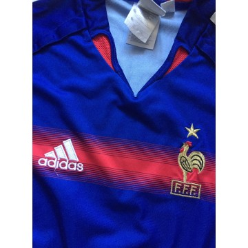 Maillot EQUIPE DE FRANCE F.F.F adidas taille S