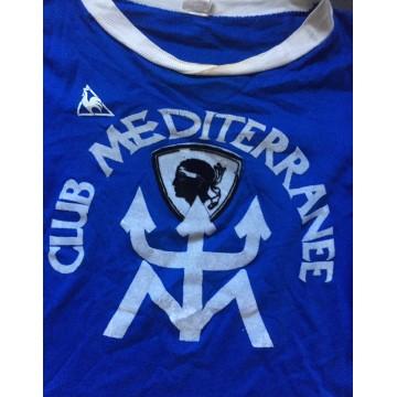 Ancien Maillot SECB Bastia Club Med Le coq Sportif taille XS