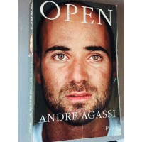 Livre OPEN TENNIS Andre Agassi 500 pages