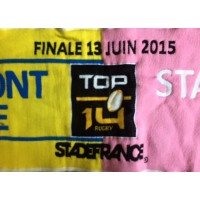 Echarpe Rugby Finale 2015 TOP 14 Clermont - Stade Français
