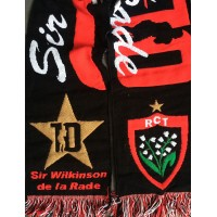 Echarpe Collector RCT TOULON Sir Wilkinson de la rade