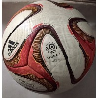 Ballon Officiel adidas PRO LIGUE 1 taille 5 Blanc/Rose