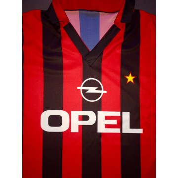 Maillot Replique ancien MILAN AC Taille L OPEL