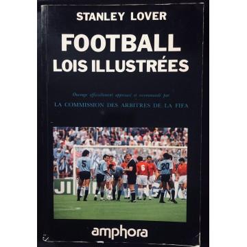 Livre Football Lois illustrées Stanley Lover 1990