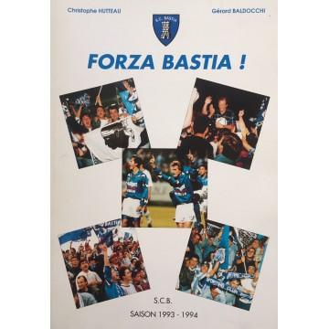 Livre FORZA BASTIA S.C.BASTIA saison 1993-1994